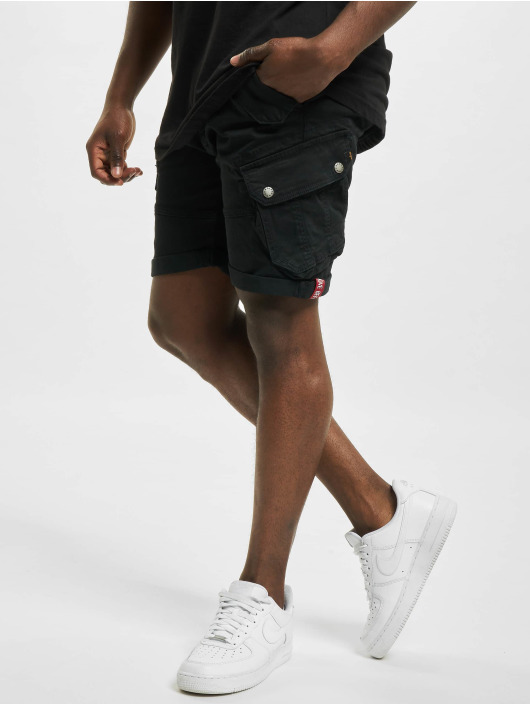 Alpha Industries Shorts Combat schwarz