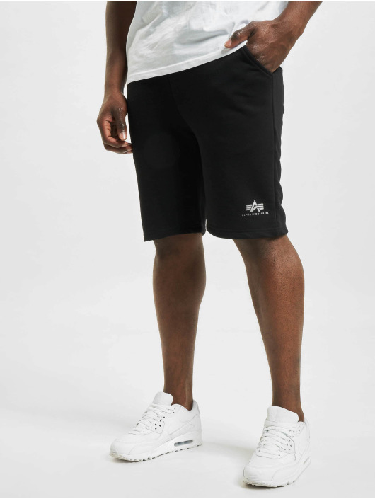 Alpha Industries shorts Basic Sl Foil Print zilver
