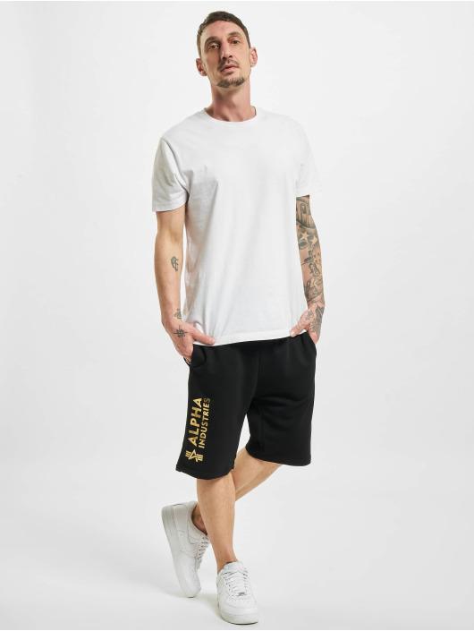 Alpha Industries shorts Basic Ai Foil Print zwart