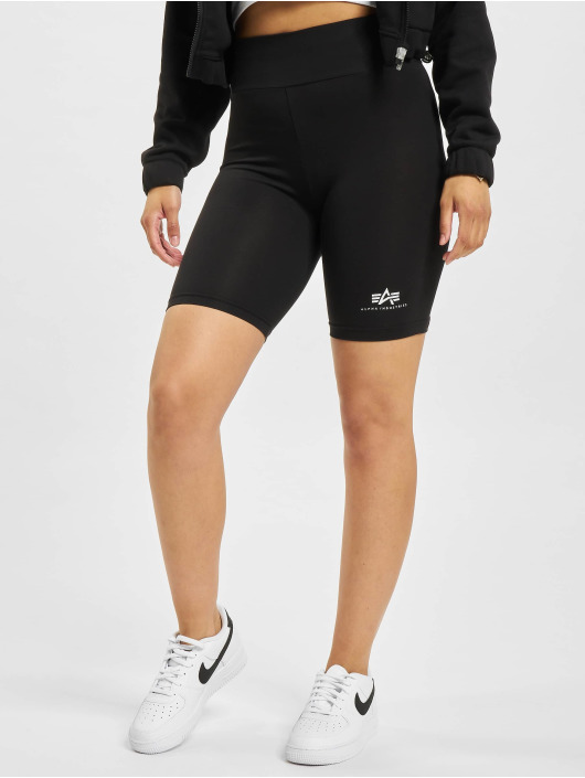 Alpha Industries shorts Basic Bike zwart
