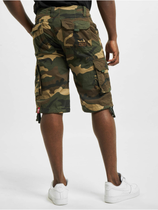 Alpha Industries Shortsit Jet camouflage