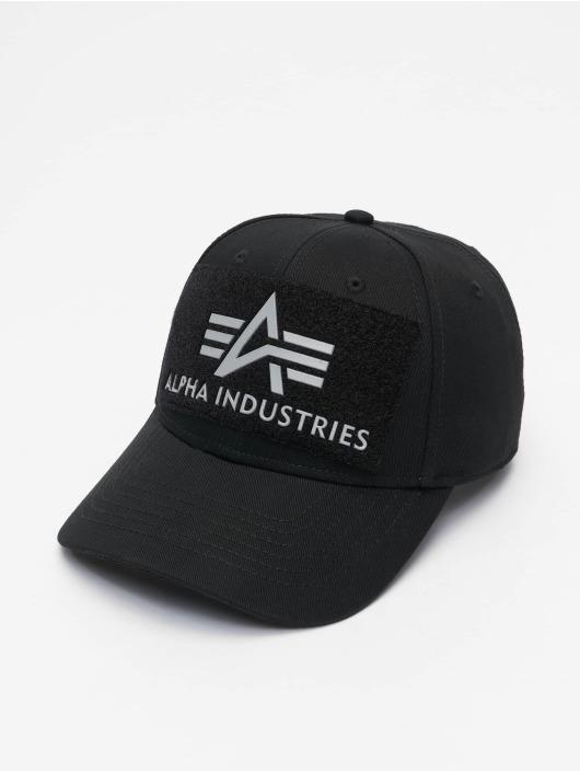Alpha Industries Snapback Cap BV Reflective Print argento
