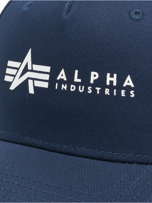 Alpha Industries Snapback Cap Alpha blue