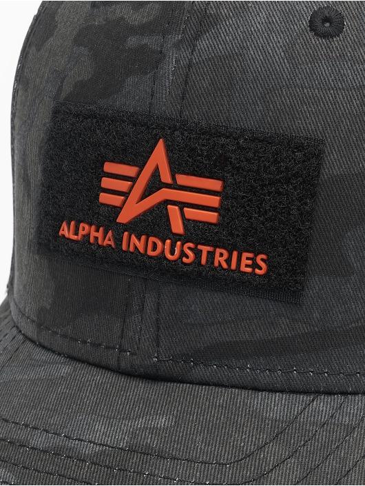 Alpha Industries Snapback Cap VLC II camouflage