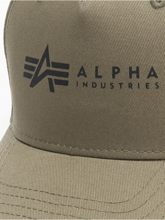 Alpha Industries Snapback Cap Alpha green