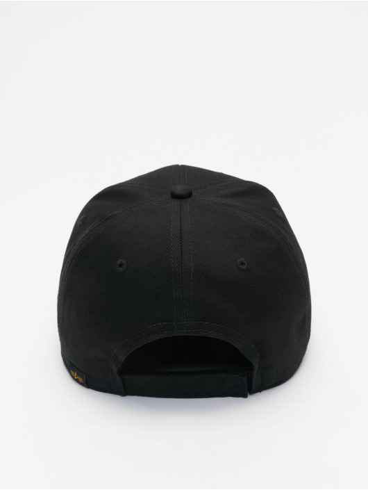 Alpha Industries Snapback Cap BV Reflective Print silver colored