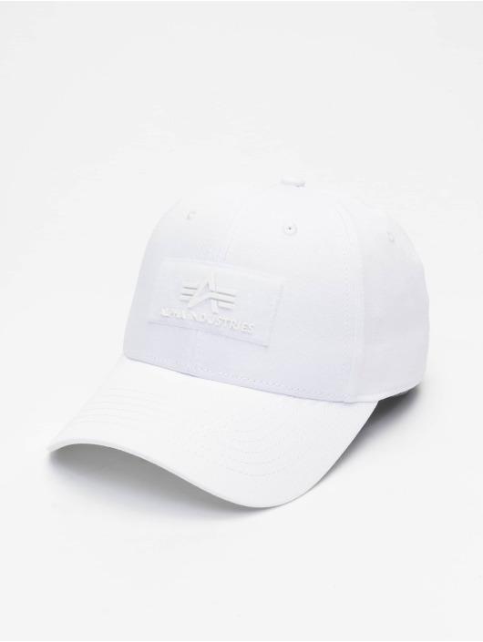 Alpha Industries Snapback Cap VLC weiß