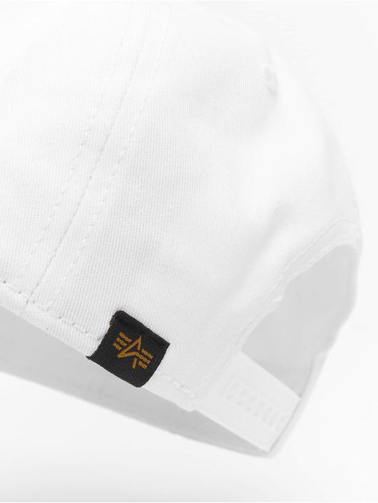 Alpha Industries Snapback Cap Alpha white