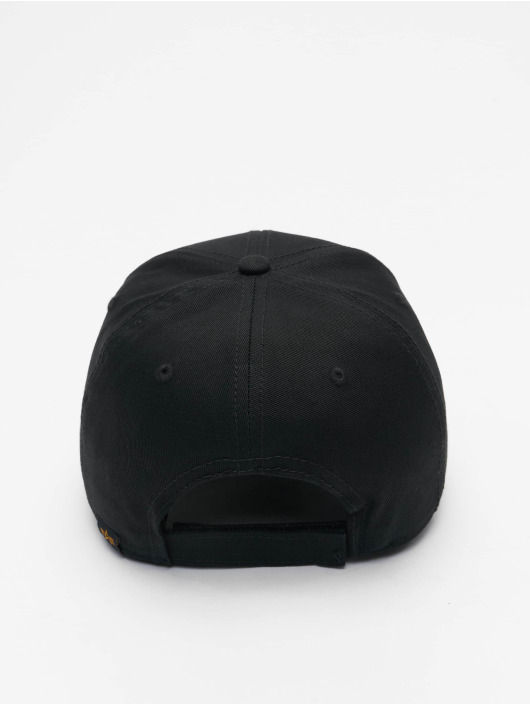 Alpha Industries Snapback Caps VLC Reflective čern