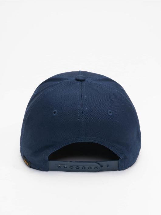 Alpha Industries Snapback Caps Alpha modrý