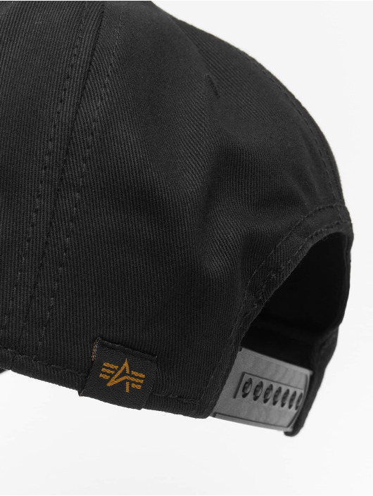 Alpha Industries Snapback Caps Alpha musta