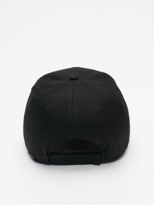 Alpha Industries Snapback Caps VLC Reflective musta