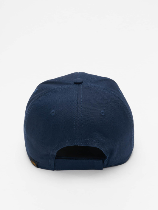 Alpha Industries Snapback Caps Velcro II niebieski