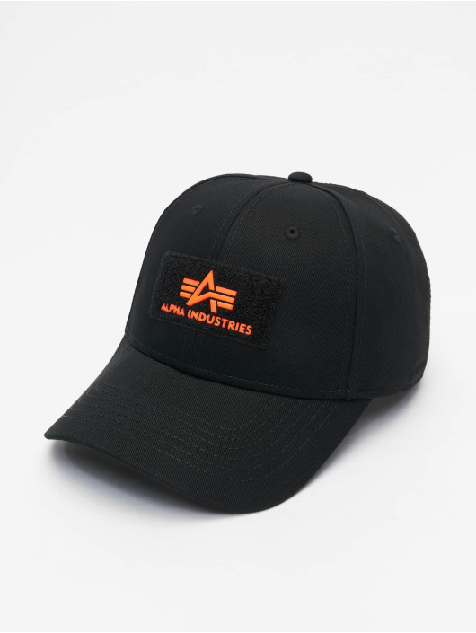 Alpha Industries Snapback Caps VLC Reflective svart