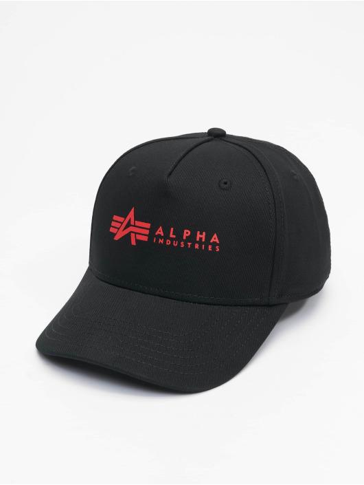 Alpha Industries Snapbackkeps Alpha svart
