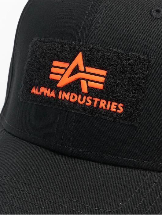 Alpha Industries Snapbackkeps VLC Reflective svart