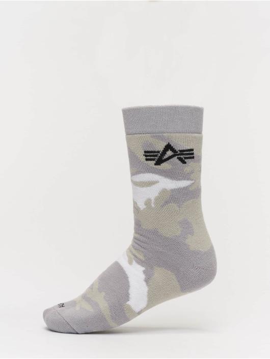 Alpha Industries Socken 3 Pack Camo camouflage