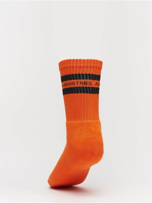 Alpha Industries Socken Stripe orange