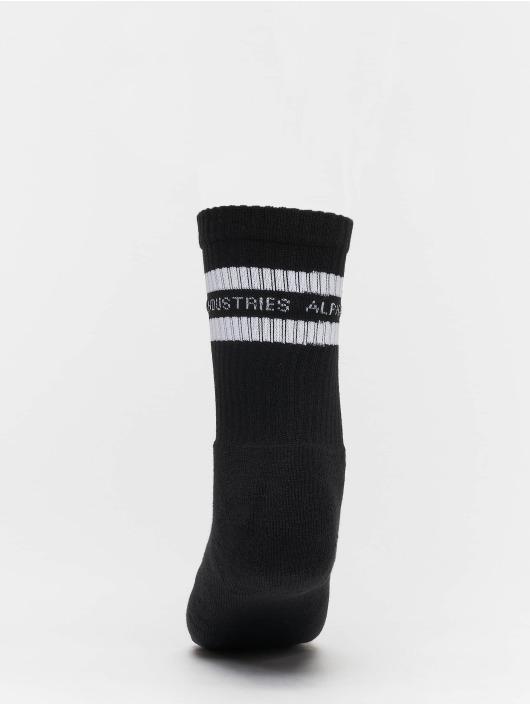 Alpha Industries Socken Stripe schwarz