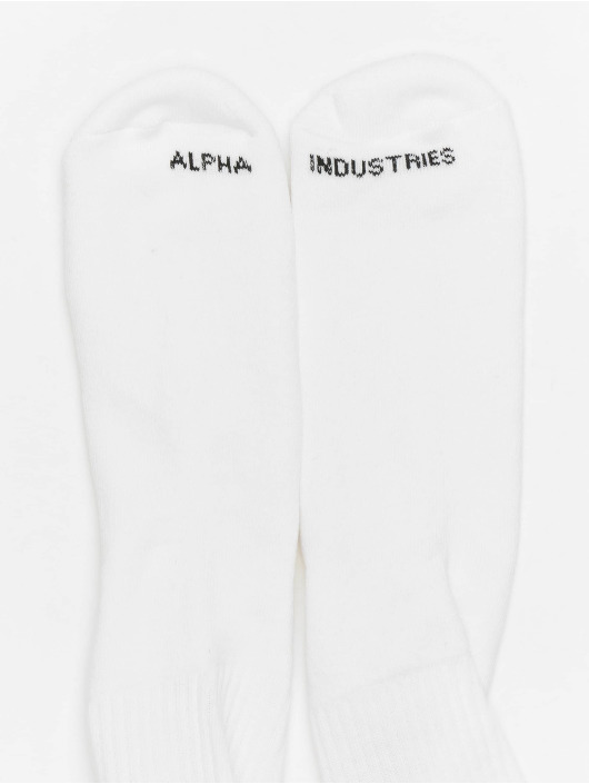 Alpha Industries Socken RBF weiß