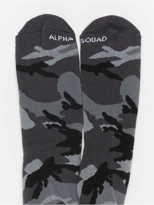 Alpha Industries Socks 3 Pack Camo colored