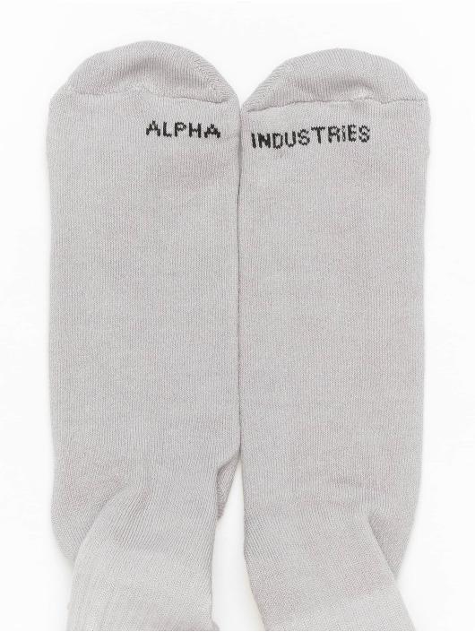 Alpha Industries Sokker RBF grå