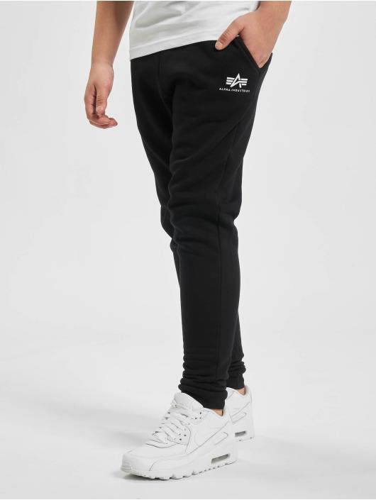 Alpha Industries Spodnie do joggingu Basic czarny