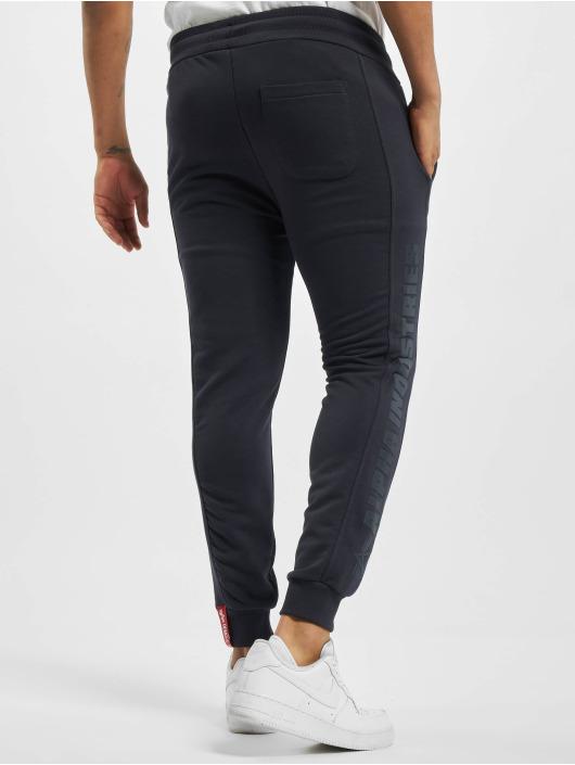 Alpha Industries Spodnie do joggingu Inlay Rubber niebieski