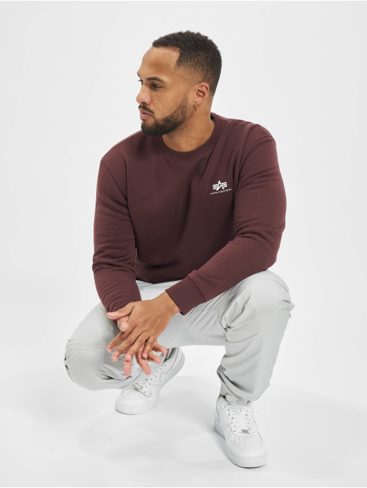 Alpha Industries Sweat & Pull Small Logo Basic rouge