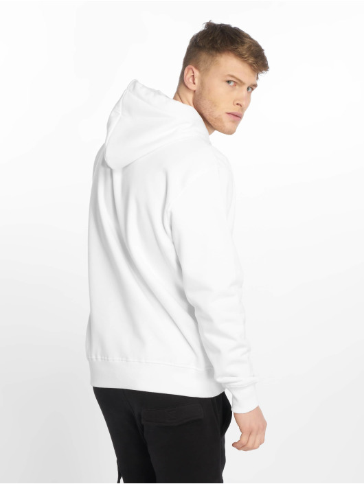 Alpha Industries Sweat capuche Basic Small Logo blanc