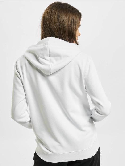 Alpha Industries Sweat capuche New Basic Foil Print blanc