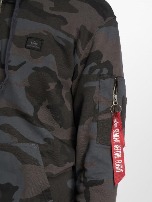 Alpha Industries Sweat capuche zippé X-Fit camouflage