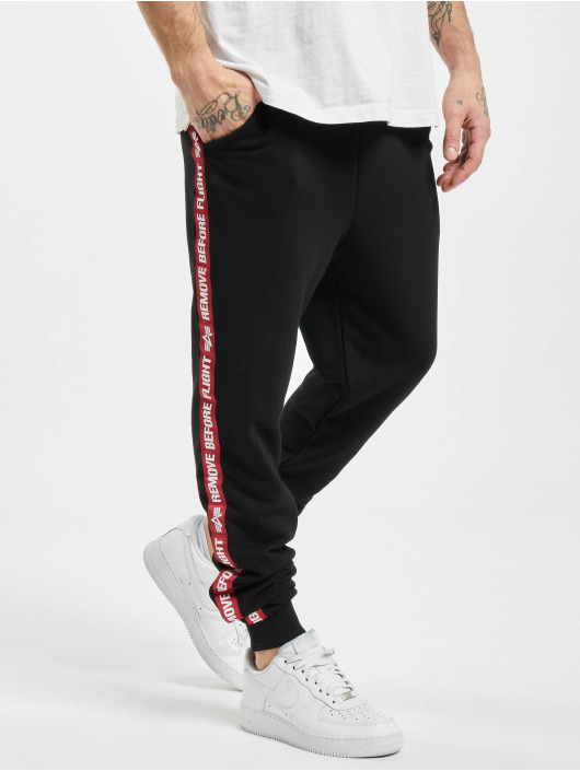 Alpha Industries Sweat Pant Rbf Tape black