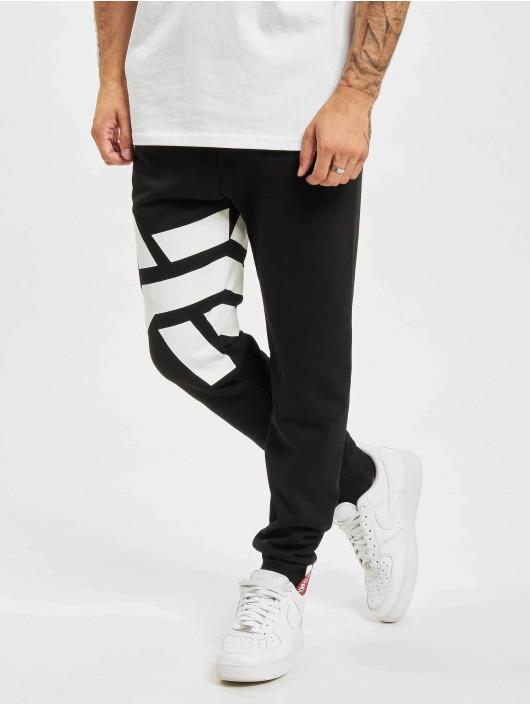 Alpha Industries Sweat Pant Side Logo black