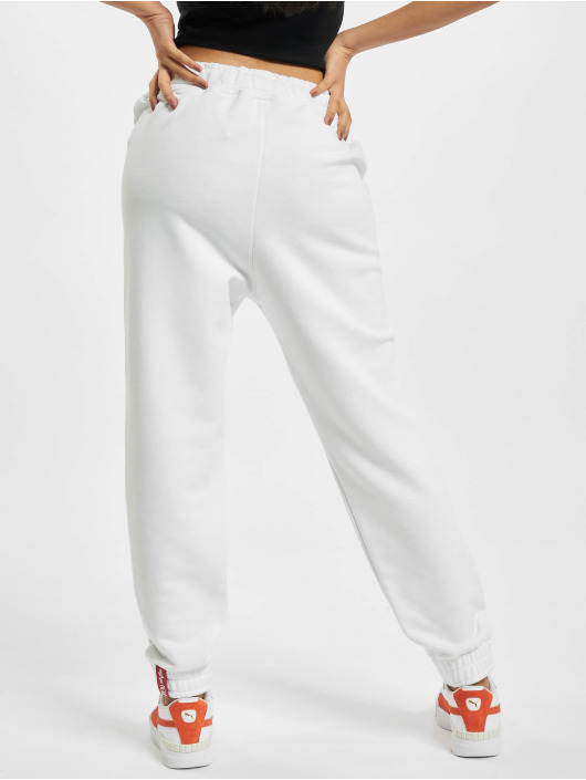 Alpha Industries Sweat Pant Basic Foil Print white