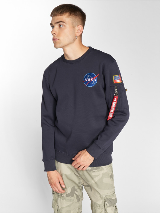 Alpha Industries Swetry Space Shuttle niebieski