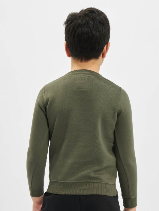 Alpha Industries Swetry Basic oliwkowy