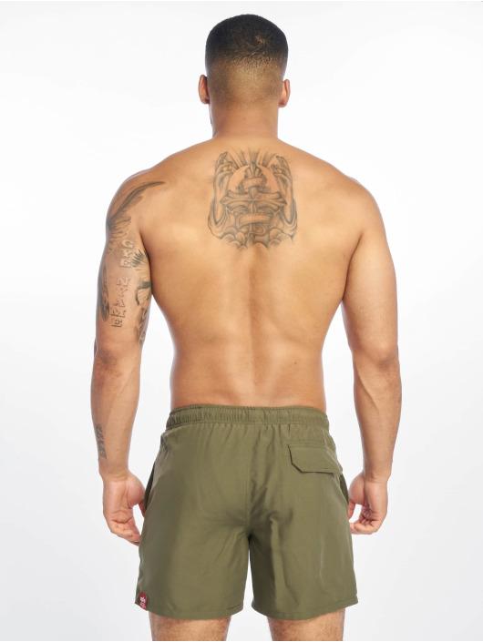 Alpha Industries Swim shorts Basic olive