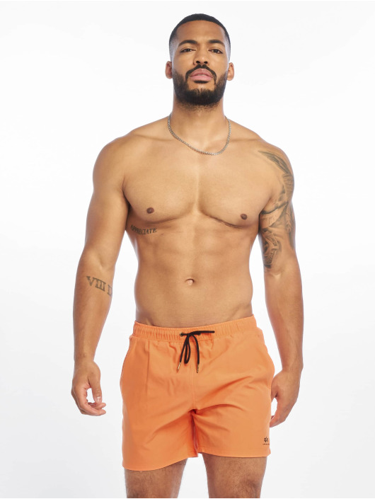 Alpha Industries Swim shorts Basic orange