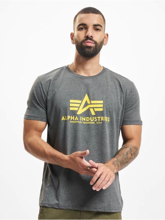 Alpha Industries T-paidat Basic harmaa