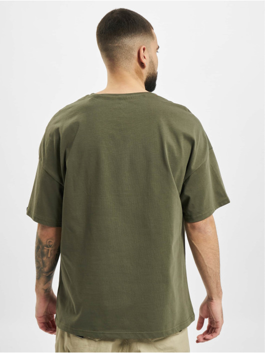 Alpha Industries T-paidat Basic OS Heavy oliivi
