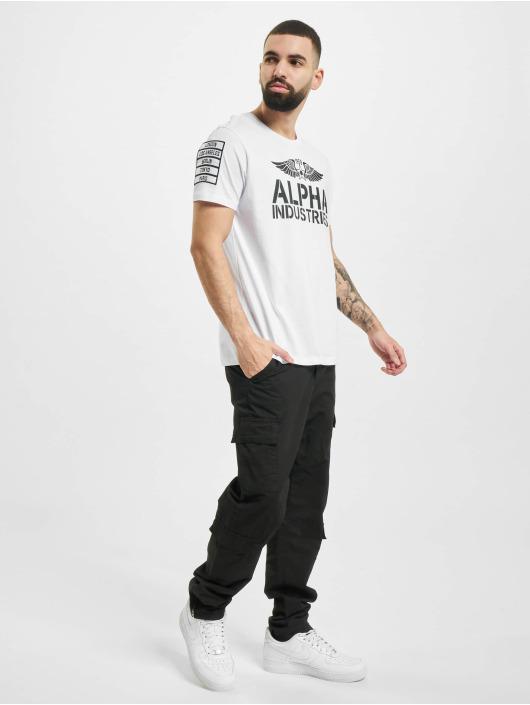 Alpha Industries T-paidat Rebel T valkoinen