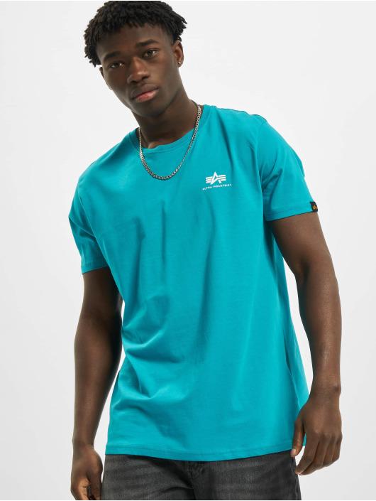 Alpha Industries T-shirt Basic Small Logo blå