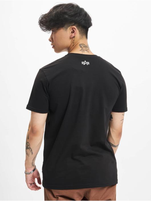 Alpha Industries T-Shirt Camo black