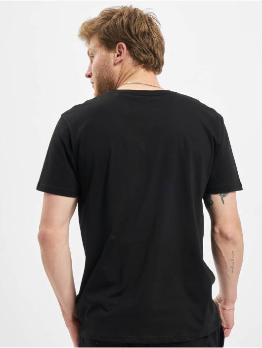 Alpha Industries T-Shirt Basic Foil Print black