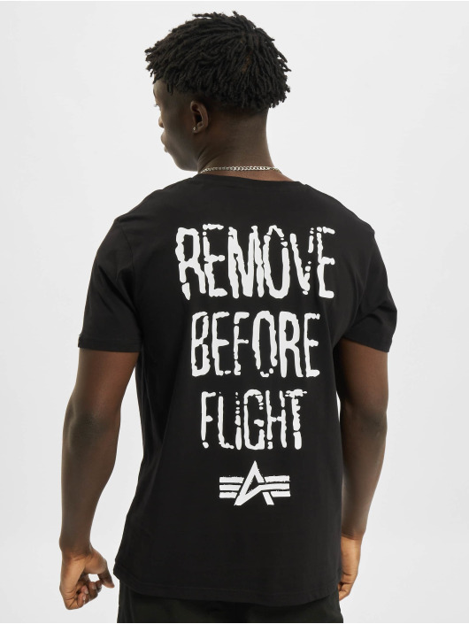 Alpha Industries T-Shirt RBF Moto black