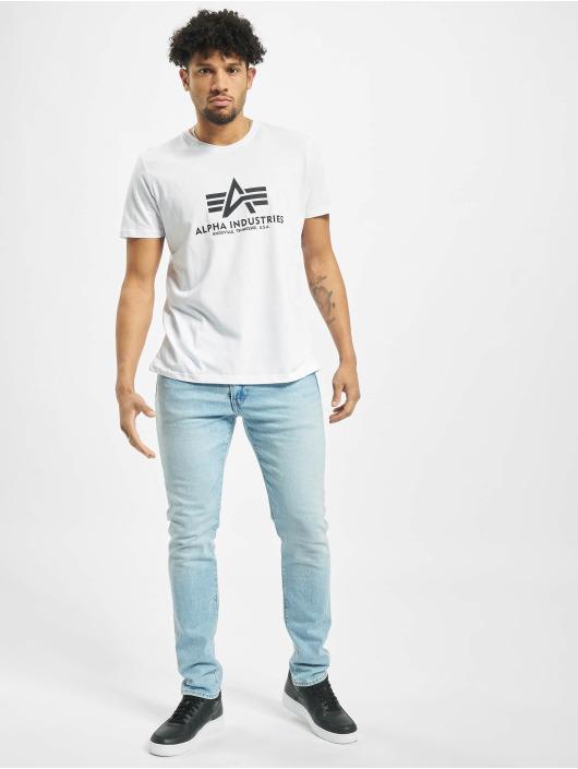 Alpha Industries T-Shirt Basic blanc