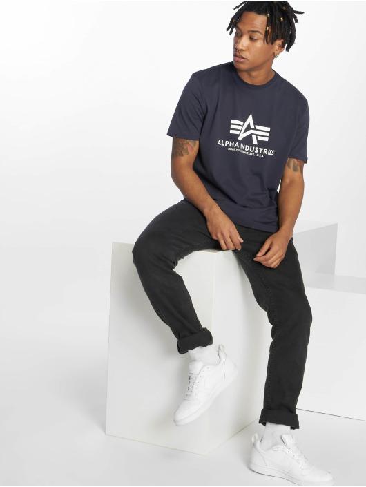 Alpha Industries T-Shirt Basic blau