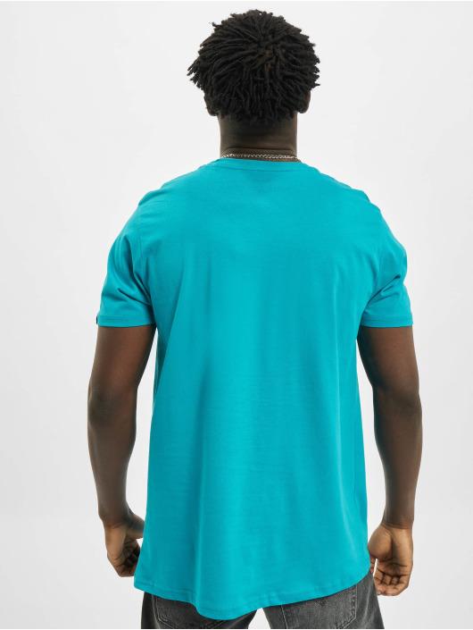 Alpha Industries T-Shirt Basic Small Logo blau