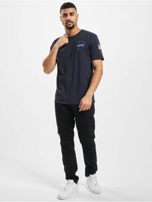 Alpha Industries T-Shirt Space Shuttle bleu
